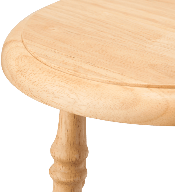 PRADO STOOL HIGH NATURAL (W310 × D310 × H630)