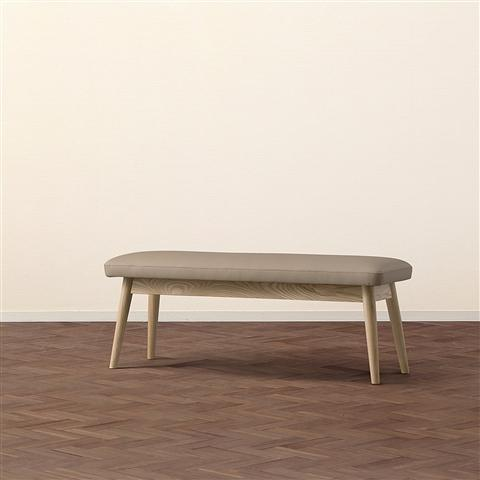 PIONI BENCH Beige x Natural