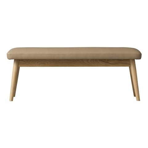 PIONI Bench Beige x Natural (W1150× D380 × H440)