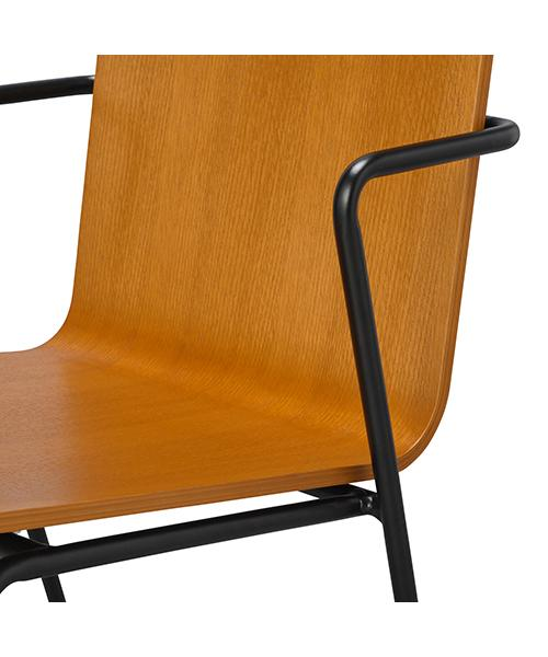RETTA CHAIR WOOD BROWN