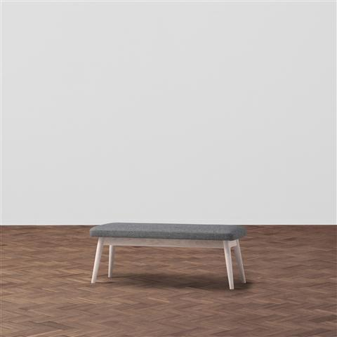 PIONI BENCH GRAY/WHITE
