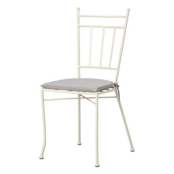 CHIARO CHAIR WHITE X GRAY (W440 × D495 × H925)