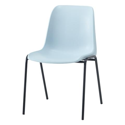 HELENA CHAIR Light Blue x Dark Blue