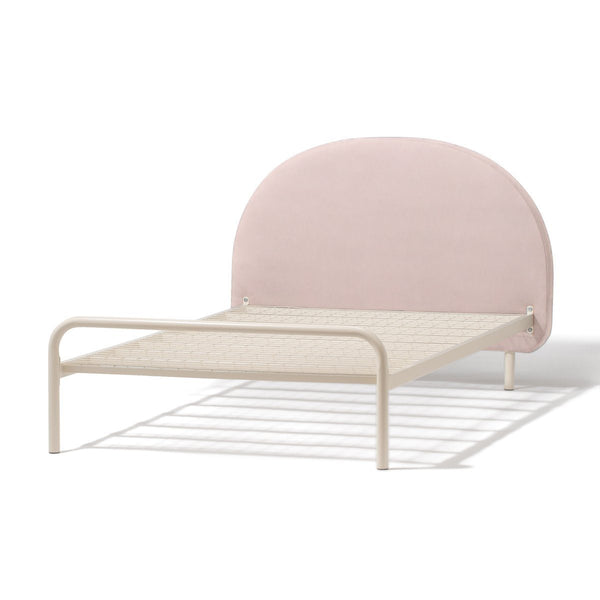MINUIT BED SEMI DOUBLE PINK (W1320×D2090×H980)