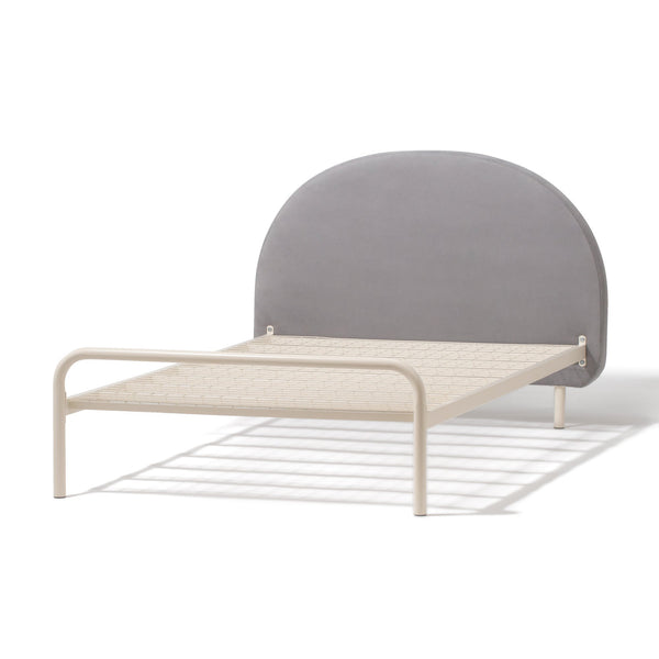 MINUIT BED Semi Double Gray (W1320 x D2090 x H980)