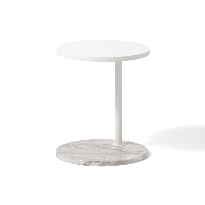 MONTEZ SIDE TABLE MARBLE