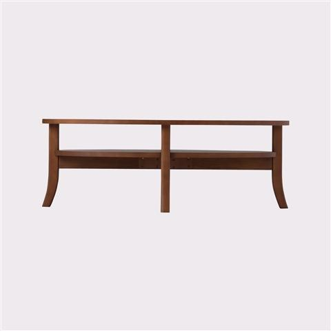 ORGA COFFEE  TABLE WOOD-TOP Brown