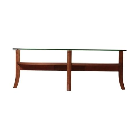 ORGA COFFEETABLE GLASS-TOP Brown