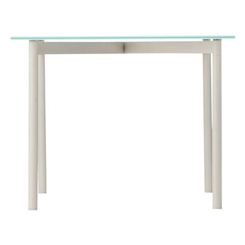 VASO COFFEE TABLE 1200 WHITE X WHITE