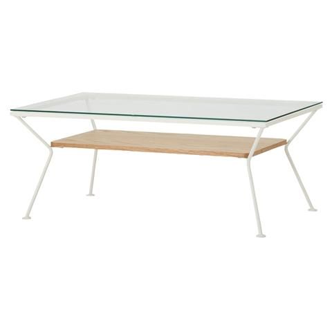 MELHOR COFFEE TABLE 18 LARGE  WHITE X NATURAL