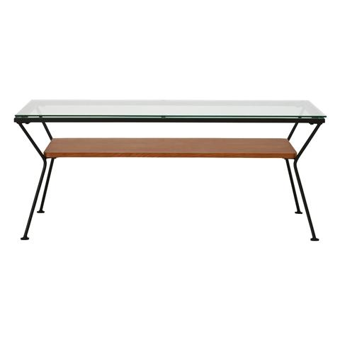 MELHOR COFFEE TABLE 18 LARGE BLACK X BROWN