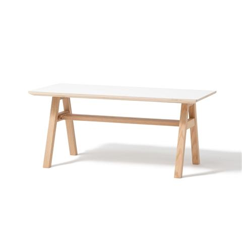 STARK COFFEE TABLE 90 WHITE (A)