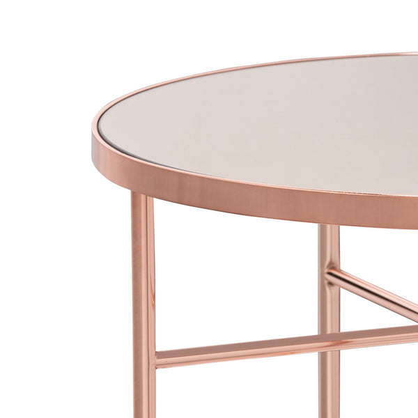 MATAN Side Table Copper Pink