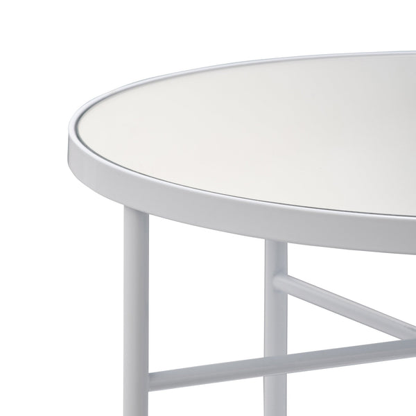 MATAN SIDE TABLE WHITE