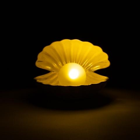 SHELL LAMP WHITE