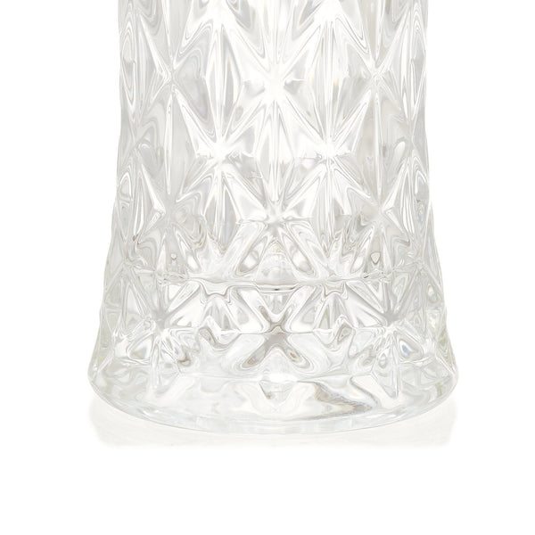 CRYSTE FLOWER VASE CRYSTAL L