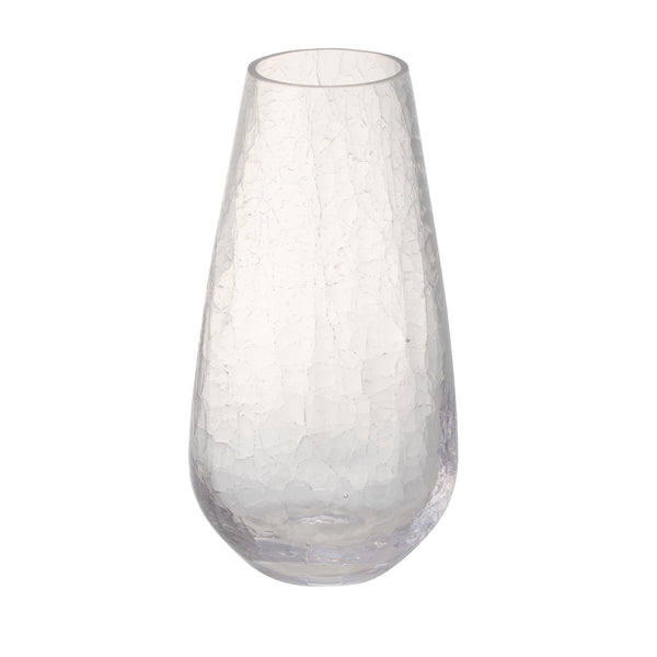 CRACKLE FLOWER VASE S CL