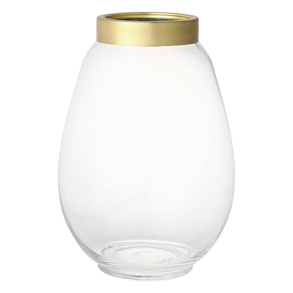 OLEA Flower Vase Large Clear