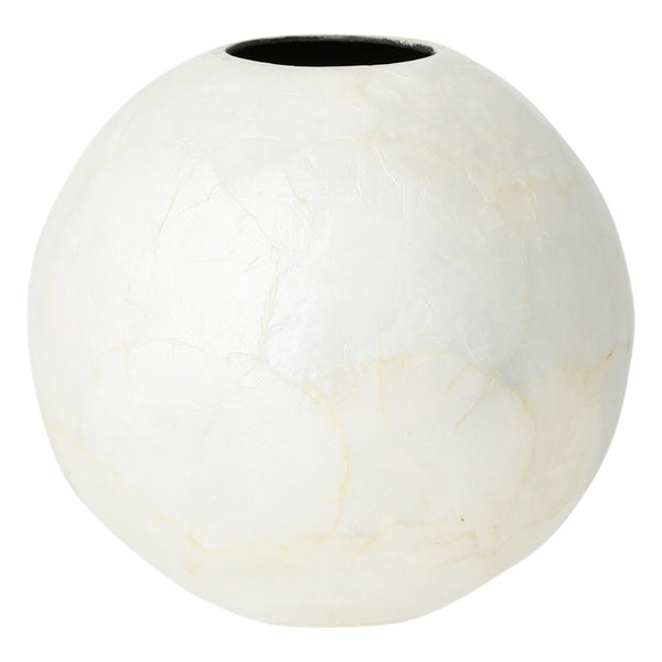 SHELL Flower Vase Large White
