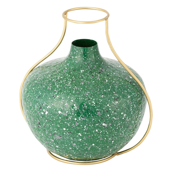 MINA FLOWER VASE LARGE GREEN
