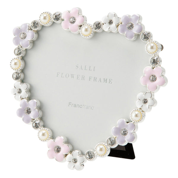 SALLI FLOWER FRAME HEART MIX