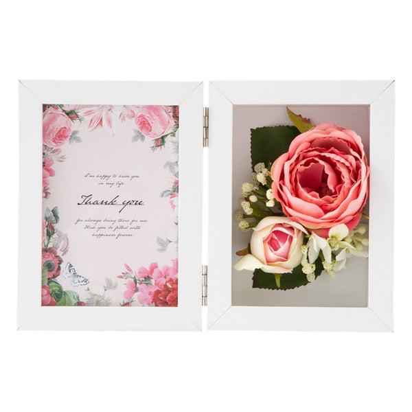 FLOWER PHOTO FRAME Pink