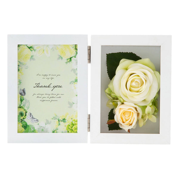 FLOWER PHOTO FRAME Green