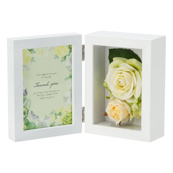 FLOWER PHOTO FRAME 2 GREEN