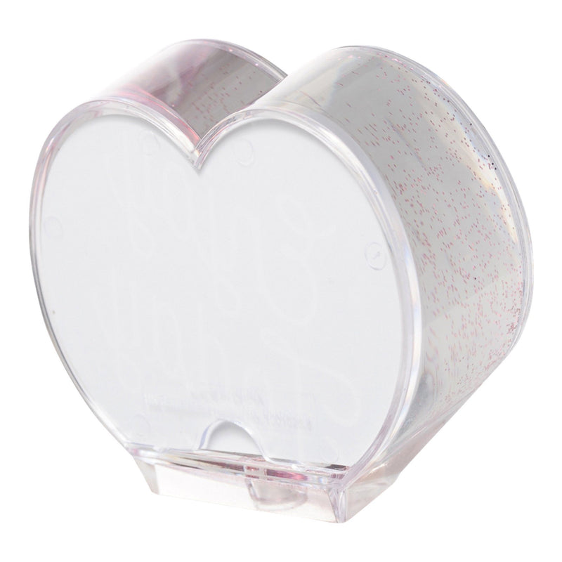 WATER&GLITTER FRAME HEART RED