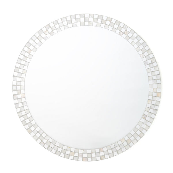 SHELL MOSAIC WALL MIRROR 2 S