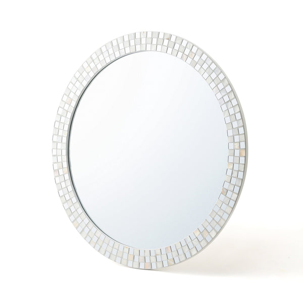 SHELL MOSAIC WALL MIRROR 2 L