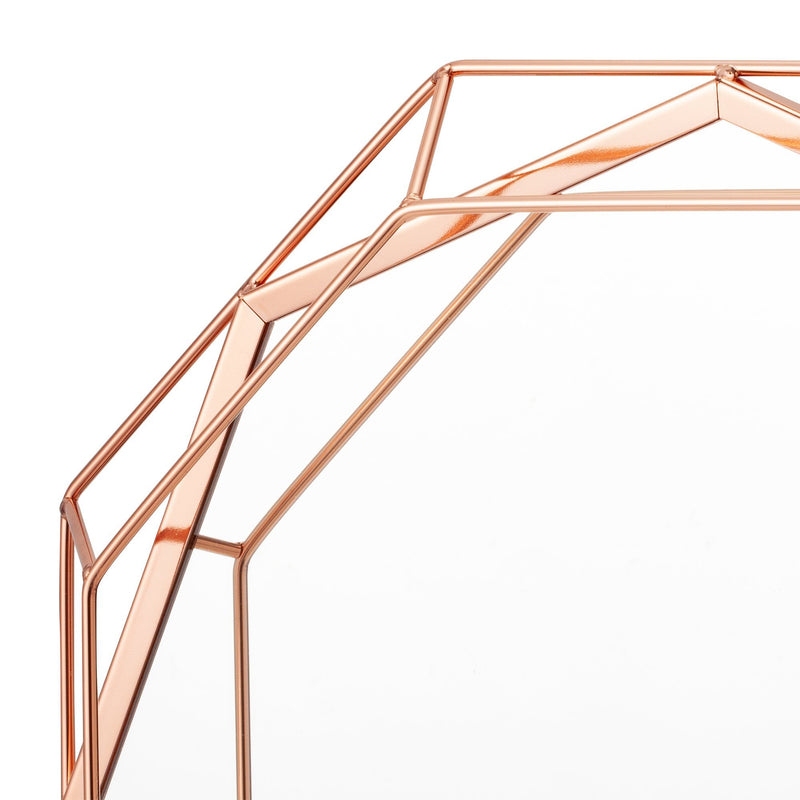 RINA WALL MIRROR PINK GOLD