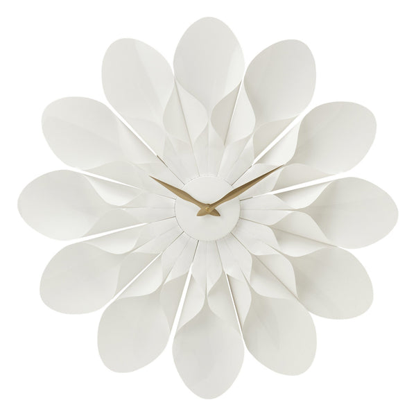 CHERI WALL CLOCK WHITE