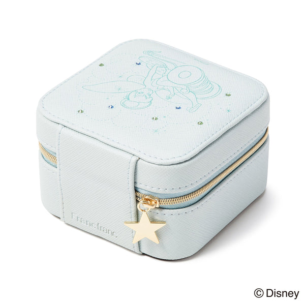 DISNEY TINKER BELL JEWELRY BOX BLUE