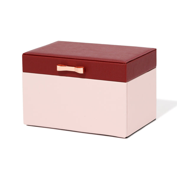 BICOLOR JEWELRY BOX SMALL PINK