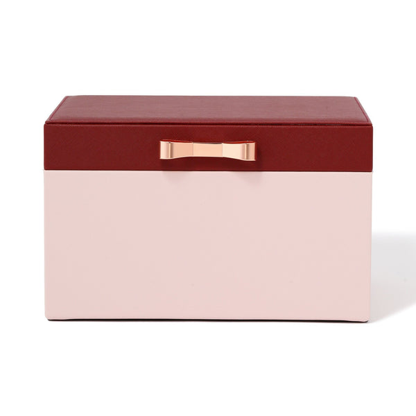 BICOLOR JEWELRY BOX LARGE PINK