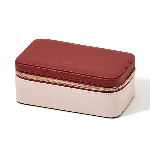 BICOLOR TRAVEL JEWELRY BOX M P