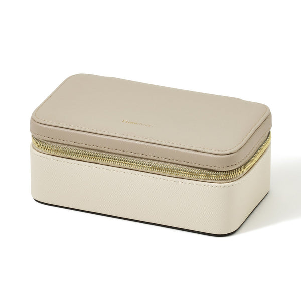 BICOLOR TRAVEL JEWELRY BOX M B