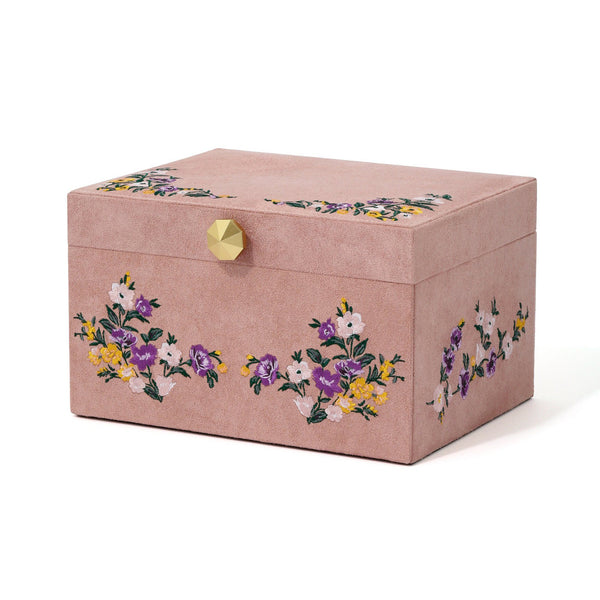 EMBROIDERY JEWELRY BOX L PK