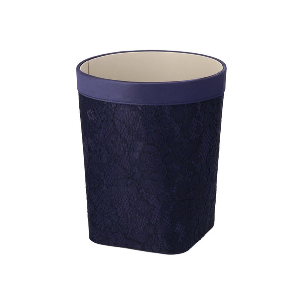 LACE DUST BOX Small Navy