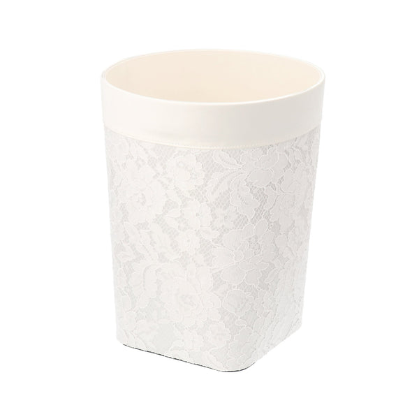 LACE DUST BOX Medium Ivory