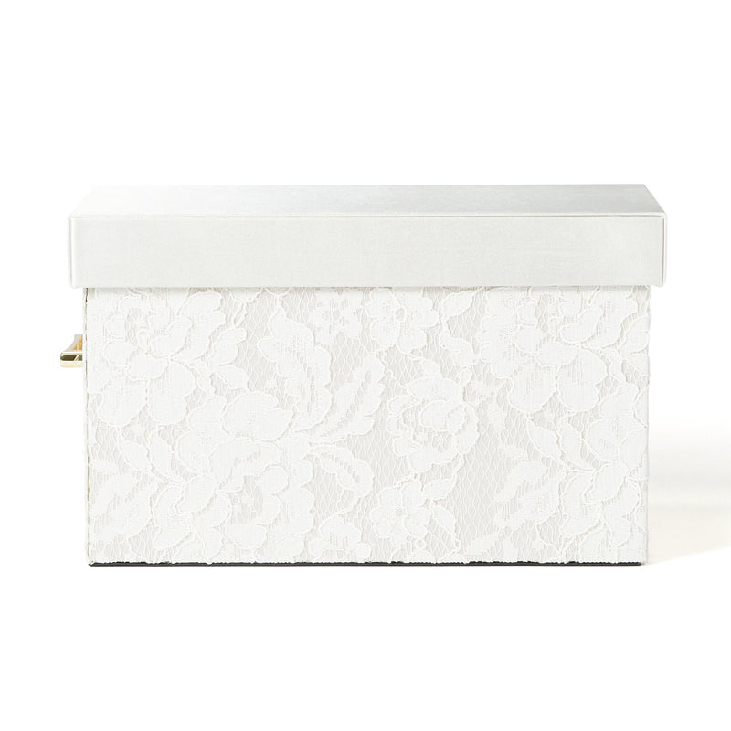 LACE BOX Small Ivory