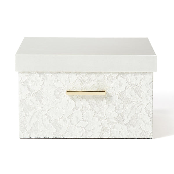 LACE BOX Large Ivory