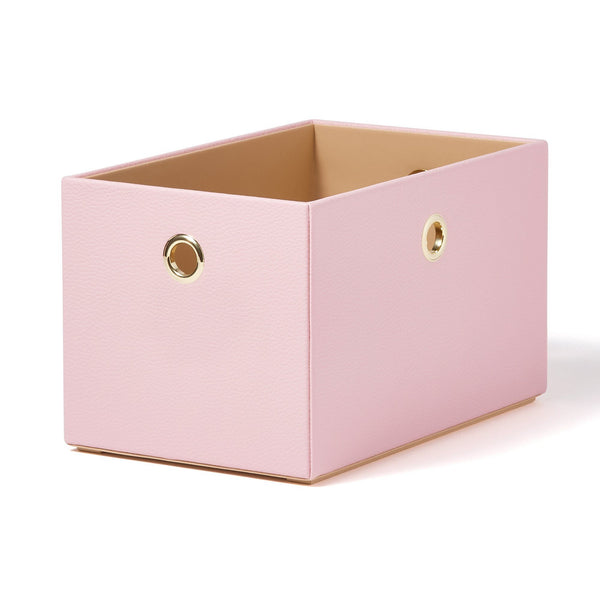 PULIRE STACKING BOX SMALL PINK