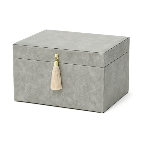 FLAVIA JEWELRY BOX Large Gray
