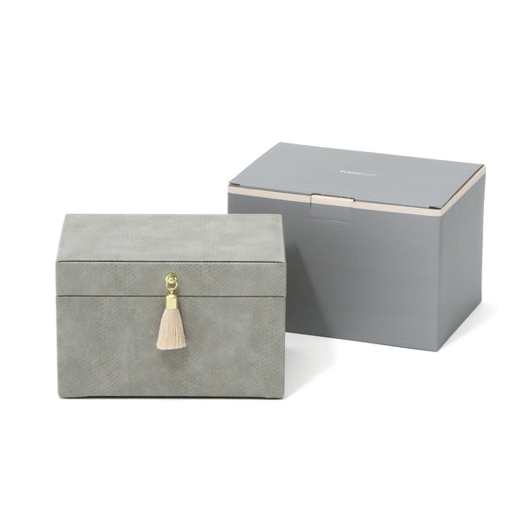 FLAVIA JEWELRY BOX Small Gray