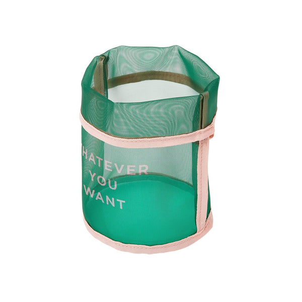 CLARTE MESH BASKET SMALL GREEN