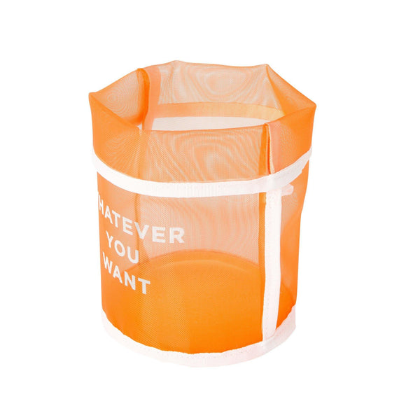 CLARTE MESH BASKET SMALL ORANGE