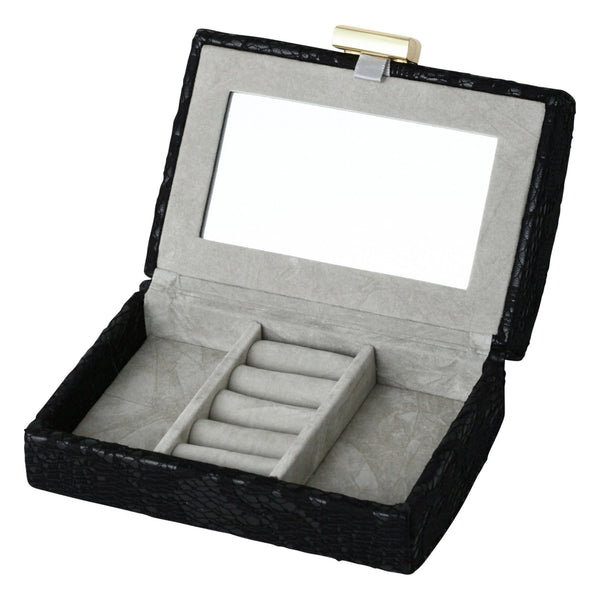 RETHEL Clutch Jewelry Box Small Black