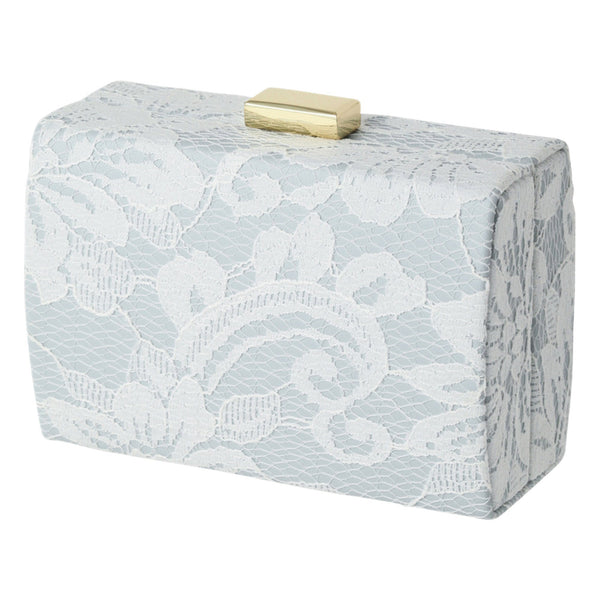 RETHEL Clutch Jewelry Box Small  Blue